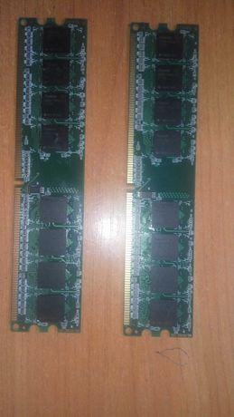 Оперативная память Apacer 2Gb/DDR2/800Mhz.  2*2Gb