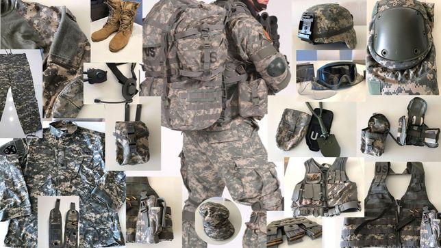 Mundur wojskowy USA (ACU) - mega zestaw. Komplet. Okazja.