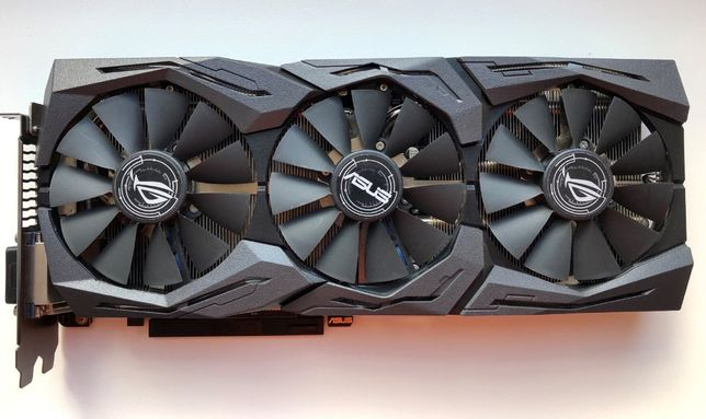 Видеокарта ASUS STRIX GAMING Geforce GTX 1060 6 gb