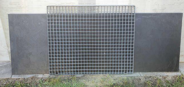 Krata pomostowa WEMA ocynk podest 100 x 80 cm x 2,5 cm - 8 szt