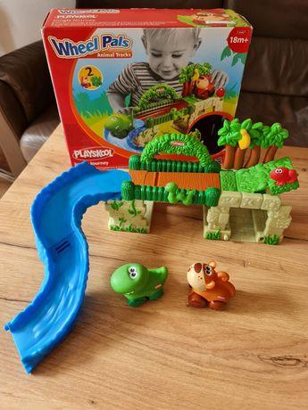 Playskool Hasbro 27419 Podróż Dżungla Krokodyl Małpka Zjeżdżalnia