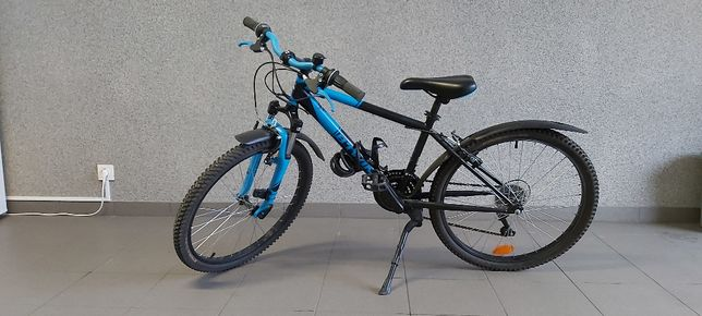 Rower górski dla dziecka MTB ROCKRIDER 500 24''