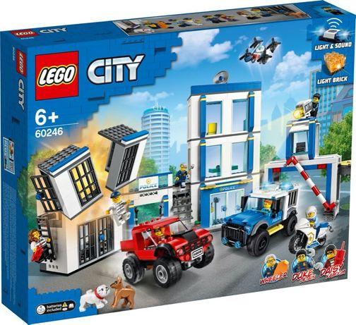 Lego City Полицейский участок Лего Сити 60246 В Наличии Оригинал