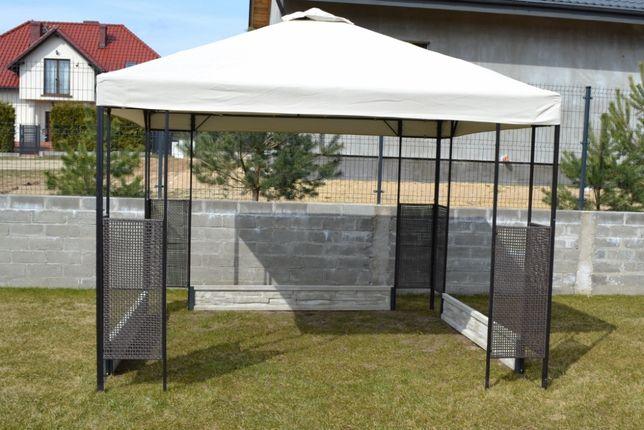 Altana ogrodowa Ikea Ammerö plus Betony obciążeniowe Pawilon Namiot