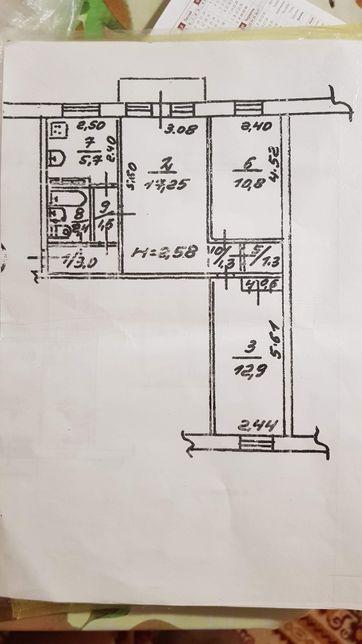 Продам трёхкомнатную квартиру в Приморском районе