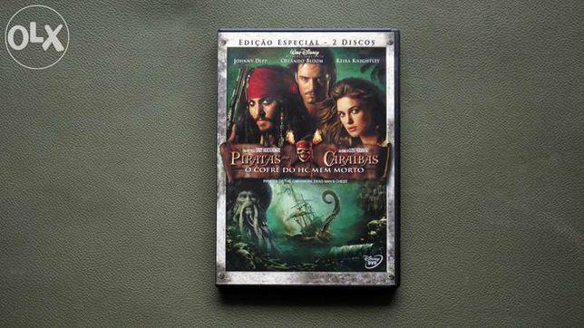 Dvd pirata das Caraíbas