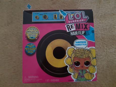 Nowa lalka lol Suprise Remix Hair Flip