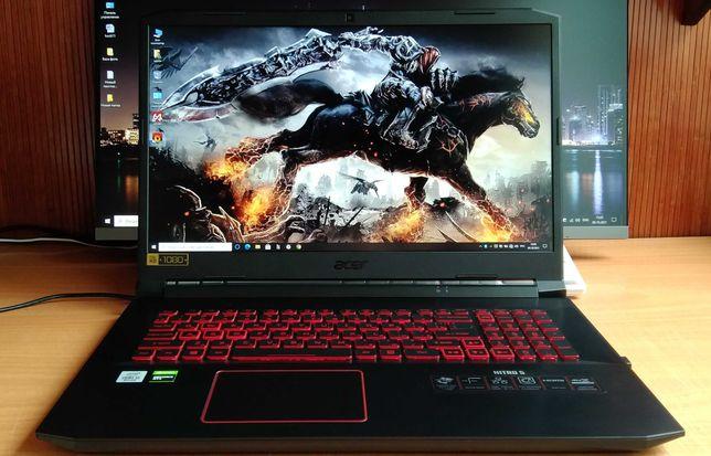 Acer Nitro 5 17.3 IPS FHD/i5-10300H/16Gb/SSD512Gb/GTX1650Ti-4Gb/новьё.