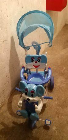 Rowerek Babymix trójkołowy myszka
