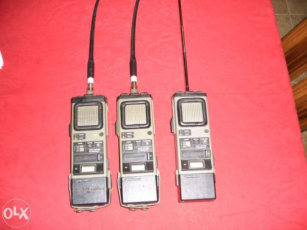 Pack 3 Walkie talkie's General Electric modelo:3-5975C