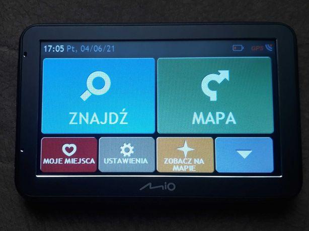 Nawigacja samochodowa Mio Spirit 7500 LM Polska Mapa