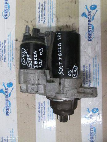Motor de arranque 02T911023G SEAT / IBIZA / 2003 / 1,2I / VW / POLO / 2003 / 1.2 I /