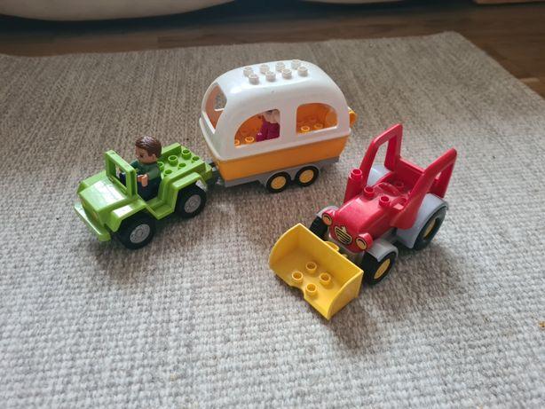 Lego Duplo quad przyczepa traktor