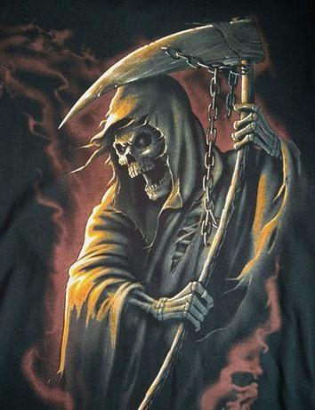Nowy T- shirt z motywem śmierci M