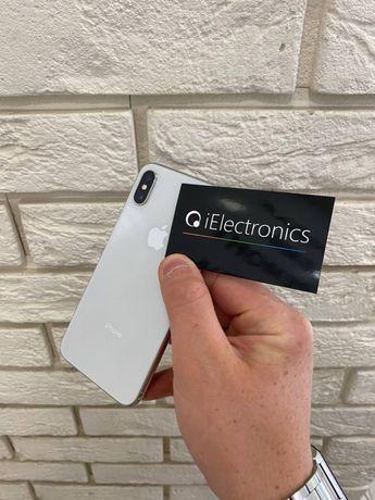 iPhone X 256 GB с гарантией 3 месяца +чехол и стекло!РАССРОЧКА