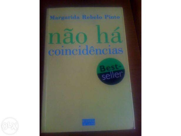 Não há coincidências, Autor :Margarida Rebelo Pinto. Portes incluídos!