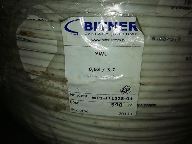 Kabel koncentryczny bitner 0.63/3.7 YWL 75 Ohm