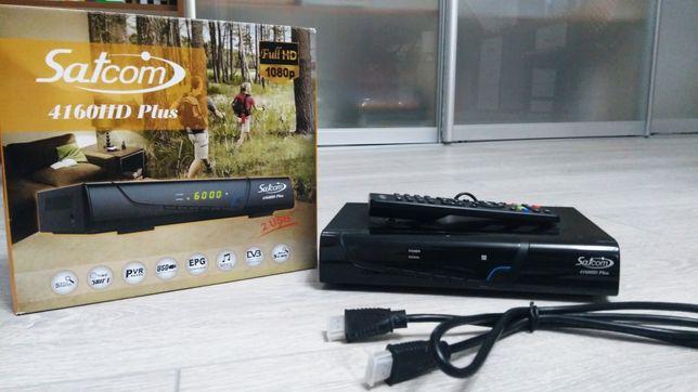 Satcom 4160HD Plus тюнер, ресивер