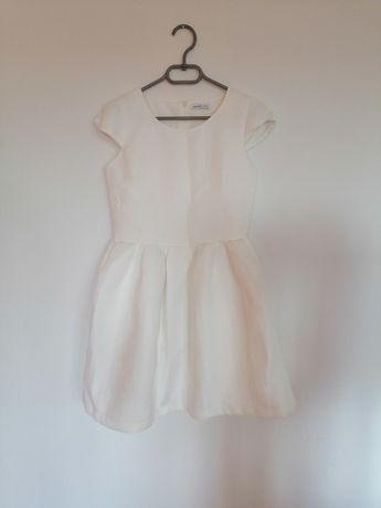 Sukienka Reserved Rozkloszowana XS/34 BIAŁA