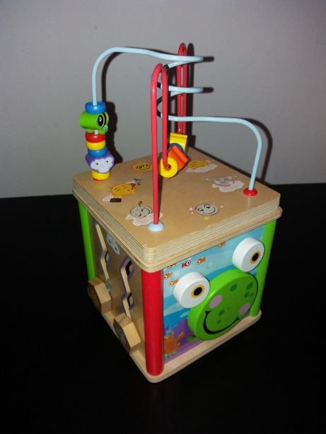 Zabawka kostka sensoryczna