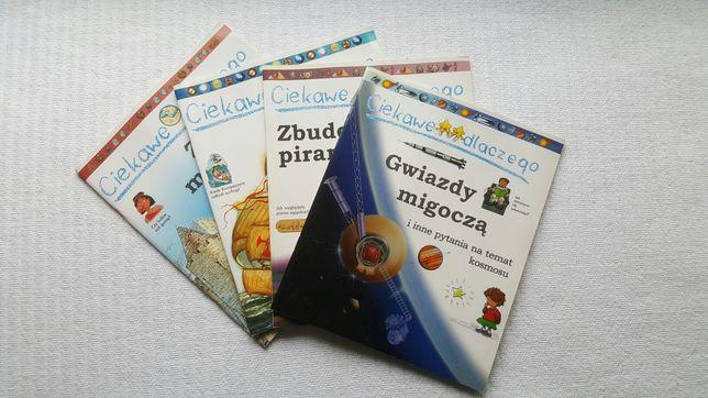 """ZESTAW - książki """"Ciekawe dlaczego"""""""