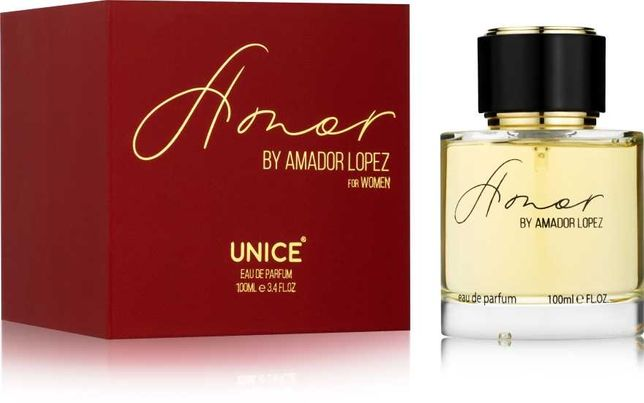 Женские духи, парфюм Unice Amor by Amador Lopez 100мл.