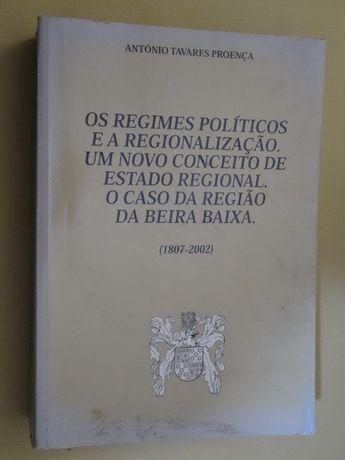 Os Regimes Políticos e a Regionalização de António Tavares Proença