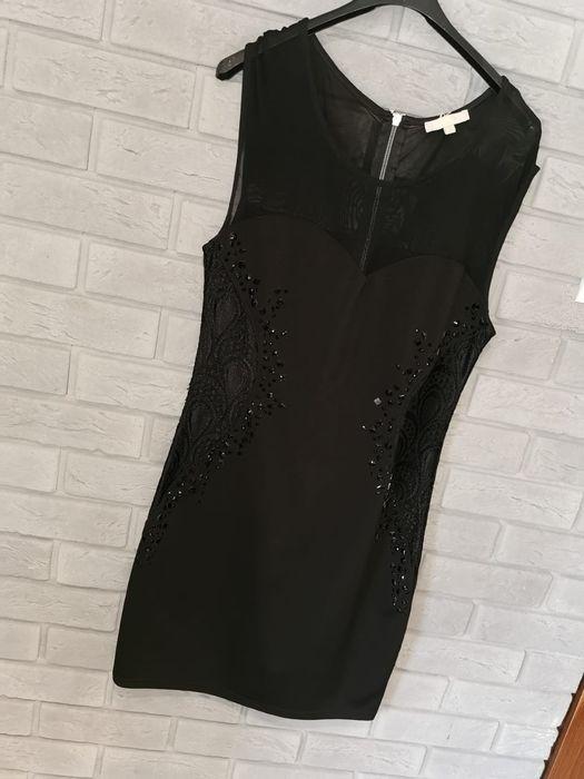 Czarna prosta sukienka. Dziewierzewo - image 1