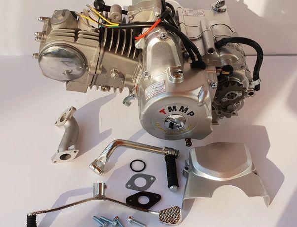 Двигатель 125 на мопед механика или Дельта ,Альфа, Актив+масло 4Т