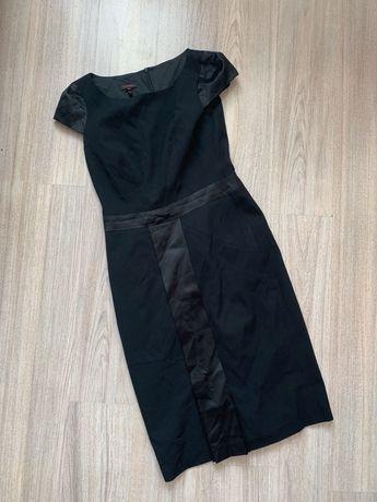 Платье футляр escada оригинал kenzo zara dutti чёрное классическое