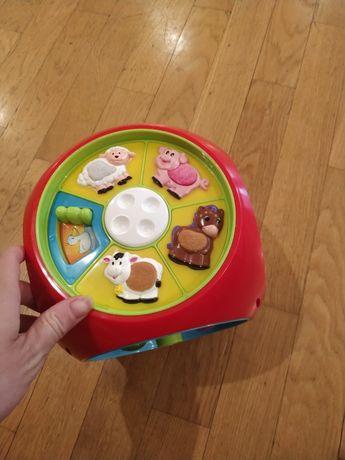 Музыкальный куб, игрушка музыкальная