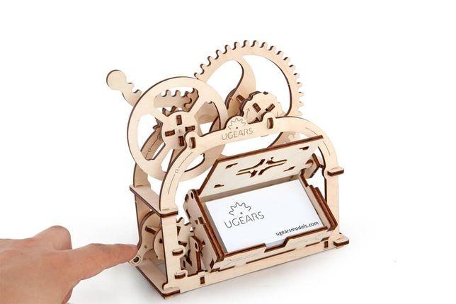 Механический 3D пазл «Шкатулка - визитница»