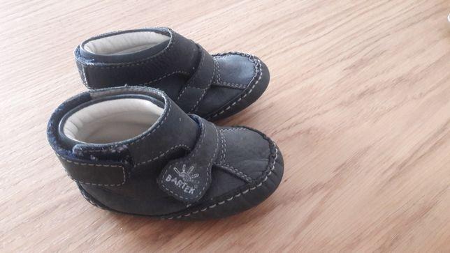 Buty kapcie skórzane Bartek roz 19 wk 12cm