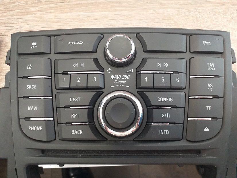 Panel nawigacji Opel Astra J rok 2016 Navi 950 Europe Kożuchów - image 1