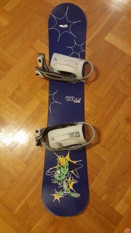 Sprzedam deskę snowboardową Crazy Creek 135 cm