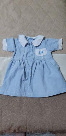 Платье коттон на девочку 3-5 лет