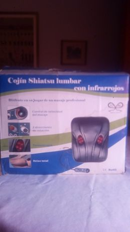 Cojin shiatsu lumbar con infrarrojos - Electrico NOVO PREÇO 46€