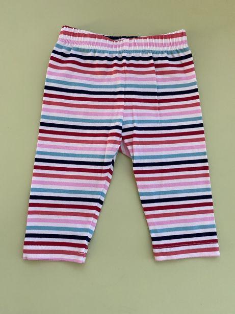 Spodenki GAP, spodnie r 0-3, 56-62 legginsy jak nowe