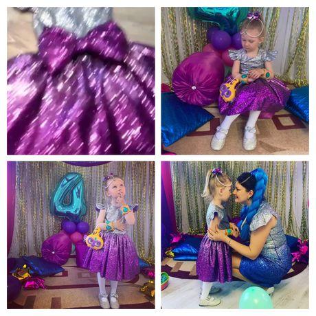 Шиммер и Шайн Наряд платье день рождения эксклюзив блёстки куколка
