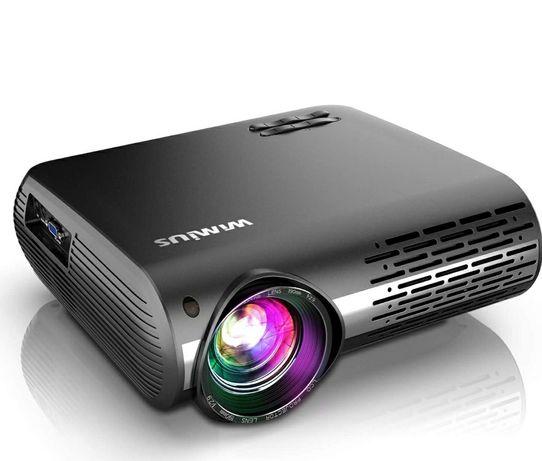 Projetor led 7500 lumens/1080P NATIVA Full HD/4K/Keystone 4D (NOVOS)