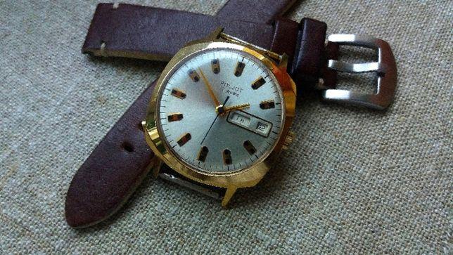 Radziecki zegarek Poljot złocony (Day Date)