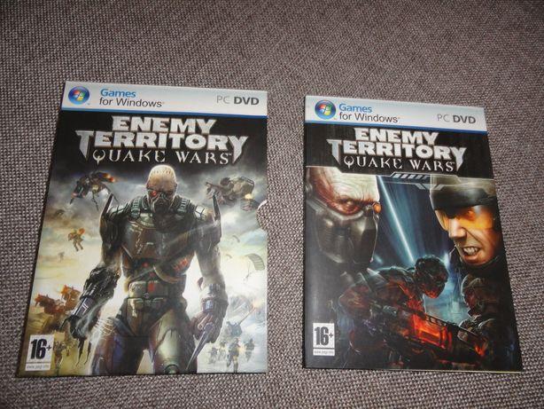 Диск з комп'ютерною грою Enemy Territory
