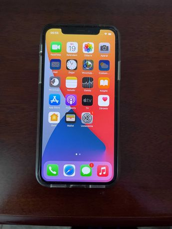 iPhone X, Silver, 64GB