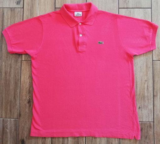 Lacoste oryginalny męski t-shirt koszulka bluzka