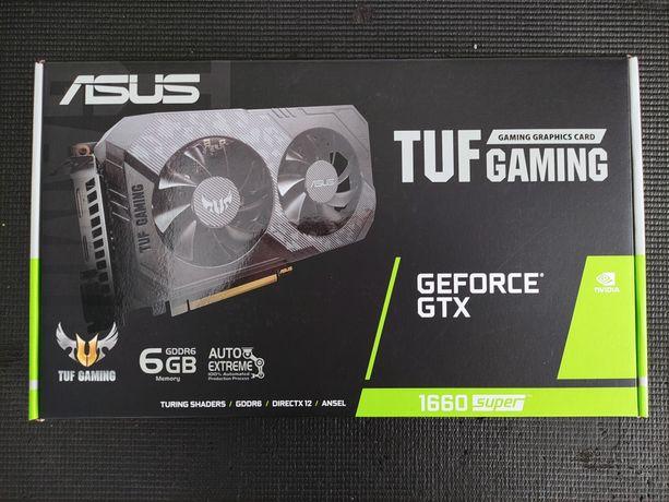 ASUS TUF Gaming GeForce GTX 1660 Super 6GB - Nova