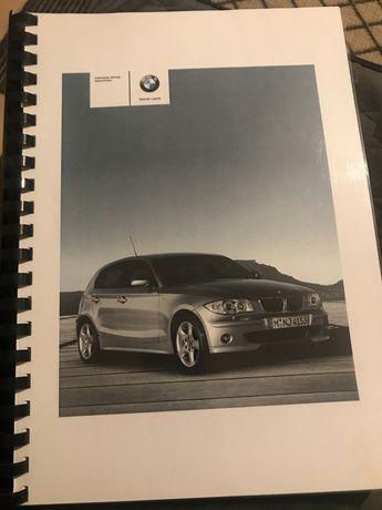 Instrukcja obslugi BMW 1