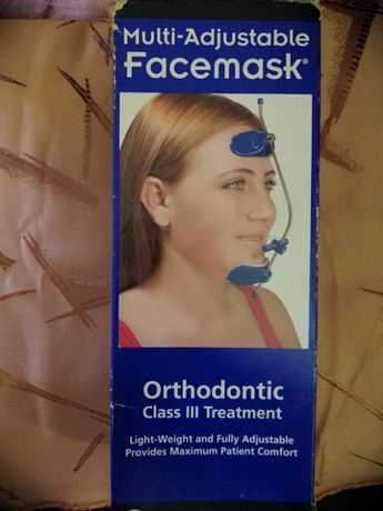 Маска ортодонтическая,Лицевая маска orthodontic class 3 treatment