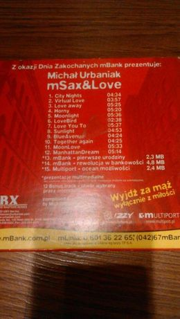 """Michał Urbaniak """"Msax&love"""""""