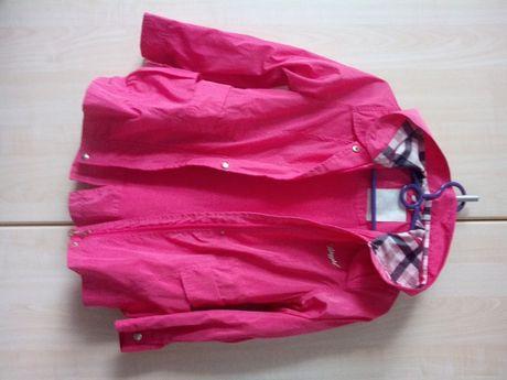 B&Q cudo różowa kurtka płaszczyk dla dziewczynki r 140/146 j. nowa!