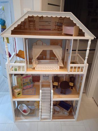 Domek dla lalek Kidkraft Savannah USA + mebelki